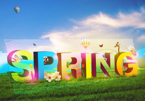 Spring time by Thez-Art