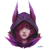 Xayah - League of Legends by Wroppi