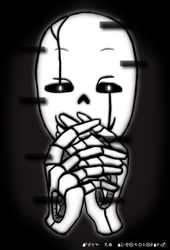 This Gaster is planning something! by SoulerClash