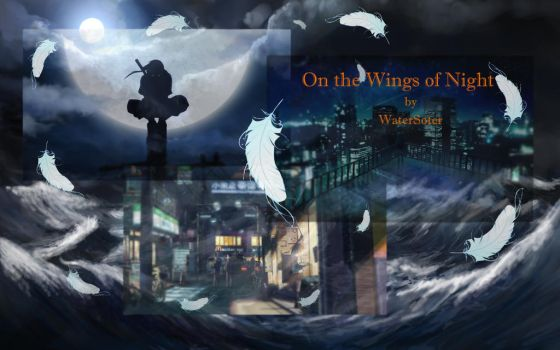 On the Wings of Night Cover by WaterSoter
