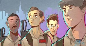 Ghostbusters Sketch by DaveJorel
