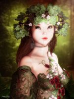 Forestfae by art-by-Amaranth