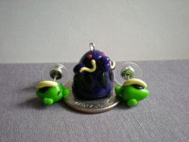 Gulpin and Swalot Jewelry