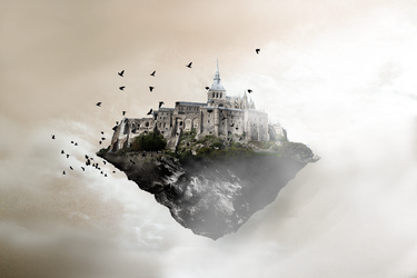 Floating Castle by Xinobor