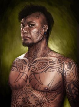 Tattoo Man by LUN2004