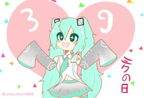 Miku Day ! by Daughter-Of-Bread