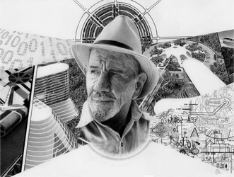Jacque Fresco by arttotheMAX