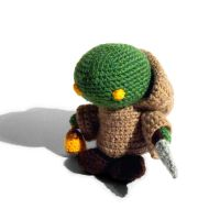 Amigurumi Tonberry by CoondyCreations
