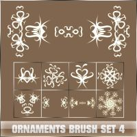 Cevkarade - Ornaments set 4 by Cevkarade