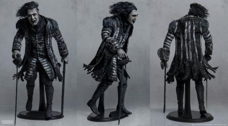 1/6 Scale Custom Figure-  CAPTAIN SALAZAR by Sheridan-J