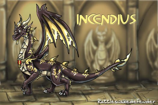 Incendius by DragonCid