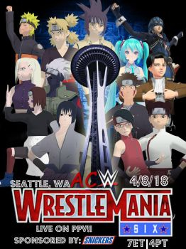 ACW WrestleMania Six by JoeyTribbiani125