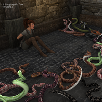 Snake Pit Peril by LithographicDan