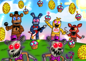 Battle Time!! by FNaF2FAN