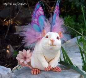 White Rat Fairy2 by MysticReflections