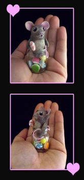Mouse in the Candy Jar by egyptianruin