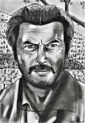 Eli Wallach _ The Good, the Bad, and the Ugly by ArthurWtb