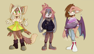 Adopts#20 Mobian [Closed] Price reduced! by Medekhgui