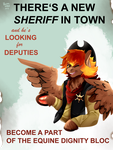 New Sheriff by IBrainWashedYou