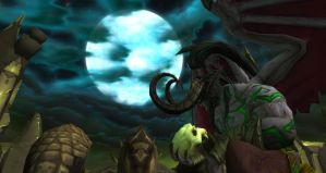 Hamlet...Digo Illidan by Bluuberwolf