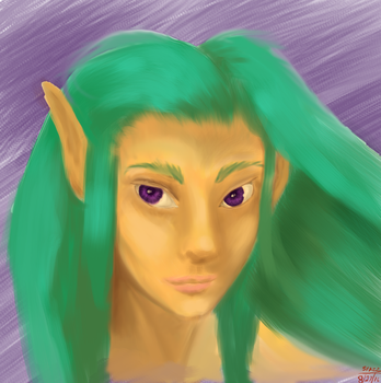 Practicing Painterly in Photoshop 1 by SpazzStudios