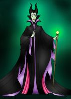 Maleficent by bootlesskyo