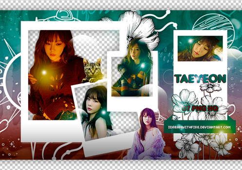Pack Png 373 | SNSD | Taeyeon | #17 by IDreamWithFire
