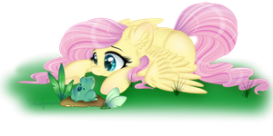 90 Minute (Fluttershy) by Silent-Shadow-Wolf