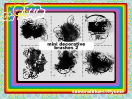 mini decorative brushes 2 by ffyunie