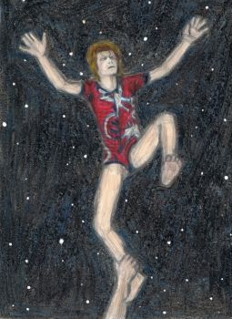 Ziggy Stardust lighter than air by gagambo