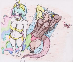 Hot Beach Date by ZoaRenso
