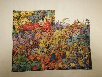 1st Gen Pokemon - 39% achieved by MykaStitcher