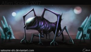 Alien Spider 2017 by satsume-shi