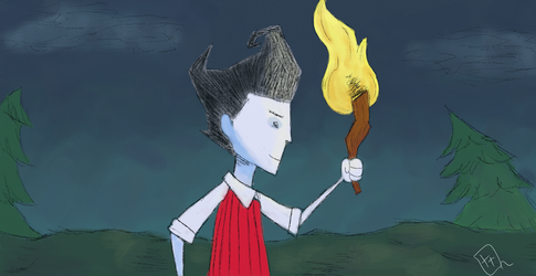 Wilson don't starve by thiago93br