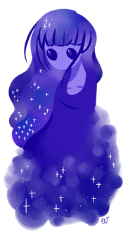doodle #6 : space by thebubblegummygirl