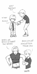 SPN_fitting clothes by Saisoto