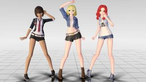 MMD- MC 2, 3, and 4 Download- Mystic Messenger DL by vixenofthemist