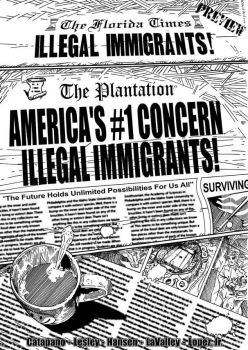Illegal Immigrants inks by Cadre