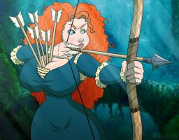 Merida's New Quiver by Drawsputin