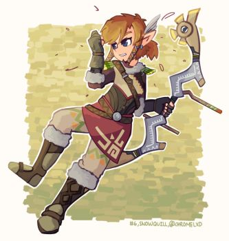 Snowquill - Breath of the Wild Armour Set [6/25] by Chromel