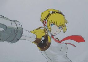 Aigis - Persona 3 by ChronoRedfield