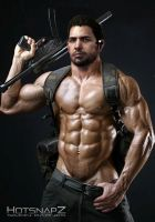 Chris Redfield Costume wanna be in Campaign by SpyrousSeraphim