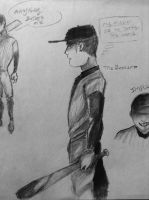 The Batter sketch 1 by CarrilRego