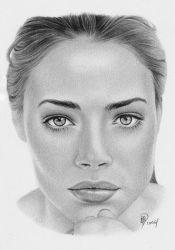 Denise Richards by wolfwoman