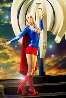 Super Girl Cosplay by Cosmic-Empress