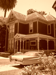 Angelino Heights Victorian by Foxy-Lady-Jacqueline