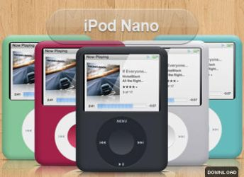 New iPod Nano by iTweek