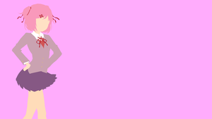 Natsuki from Doki Doki Literature Club by Reverendtundra