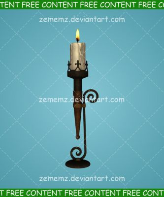 Candle 001 - FREE Content by zememz