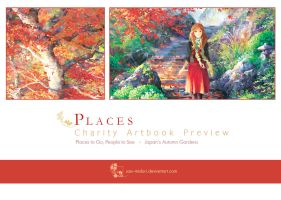 Places Artbook - Preview - by sae-midori
